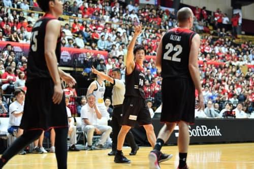 バスケットボール男子日本代表国際協会試合2018